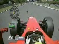 Авария Филиппе Массы на венгерском этапе чемпионата Формула-1 2009.