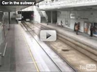 Езда в метро на автомобиле