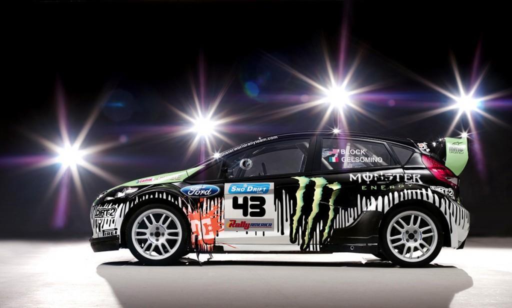 Кен Блок (Ken Block) Ford Fiesta WRC