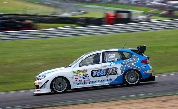 Subaru Impreza STI для гонок